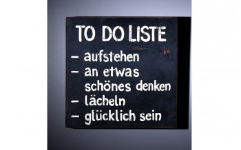 "Baidani Wall-Art ""To Do Liste"" 30 x 30cm"