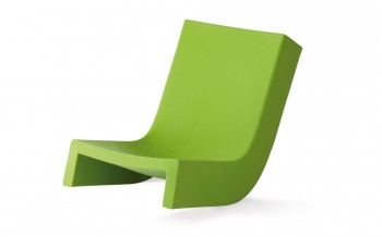 Slide Designer Sitz niedrig - TWIST - Outdoor Matt