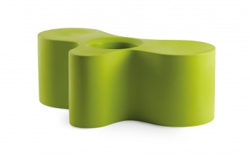 Slide Designer Sitz-/Couchtisch-Element - WHEELY - Outdoor Matt