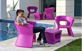 VONDOM Designer Beistelltisch PAL COLLECTION