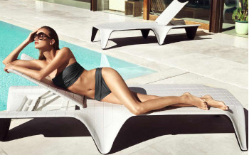 VONDOM Designer SONNENLIEGE F3 COLLECTION