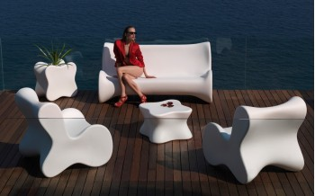 VONDOM Designer PFLANZgefäß DOUX COLLECTION