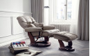 Excl. Baidani Designer Relax-Chair CONNOR mit Hocker