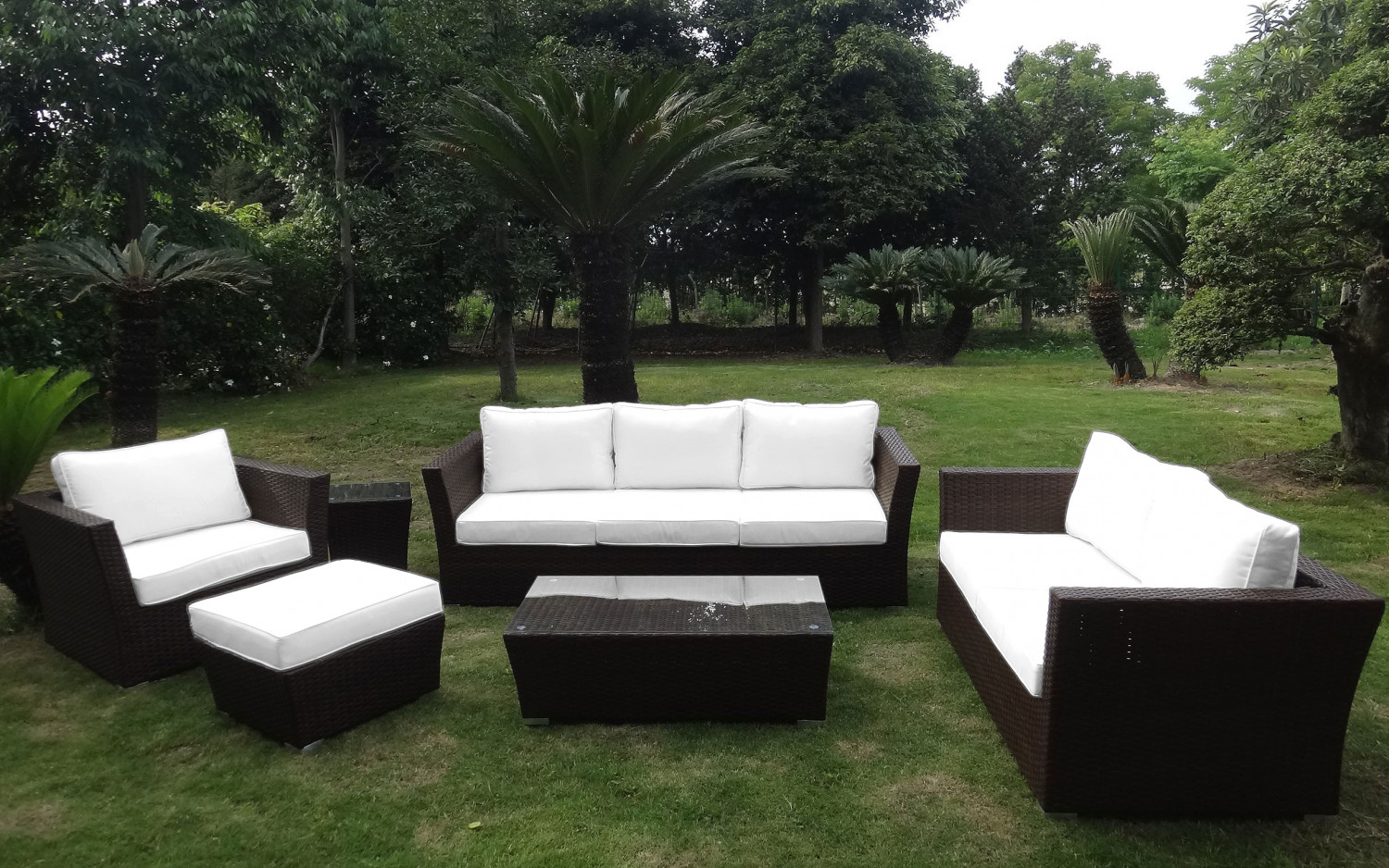 baidani rattan garten lounge treasure select baidani shop. Black Bedroom Furniture Sets. Home Design Ideas