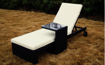 Baidani Rattan Garten Liege Holiday Select