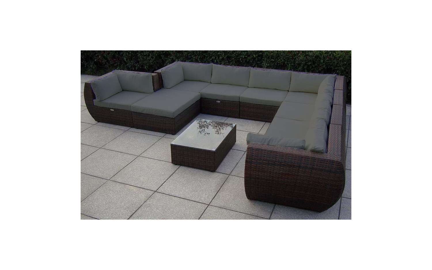 Uberlegen Best Baidani Rattan Garten Lounge Garnitur Extreme With Lounge Garnitur  With Lounge Garnitur Polyrattan