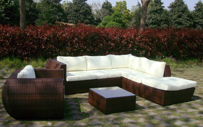 Baidani Garten Rattan Lounge Eternity Select | Baidani Shop