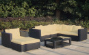 Baidani Garten Rattan Lounge Sunset Select