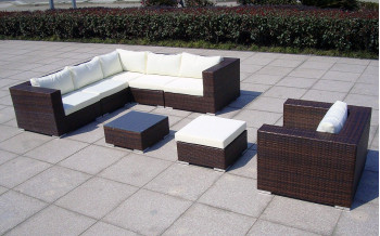 Baidani Rattan Garten Lounge Gardendream OUTLET