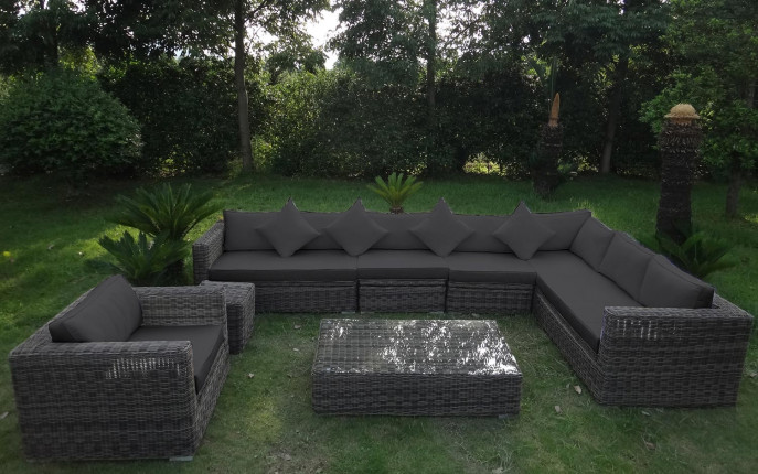 baidani rundrattan garten lounge heritage select baidani shop. Black Bedroom Furniture Sets. Home Design Ideas