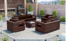 Baidani Rattan Garten Lounge Seaside Select