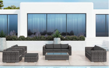 Baidani Rattan Garten Lounge Escape Select