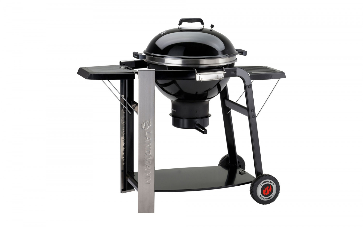 Landmann Holzkohlegrill Collection Nummer 1 : Landmann holzkohle kugelgrill black pearl select 31346 baidani shop